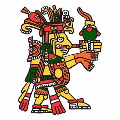 Dios Azteca Centeotl Asteca Deus Cor Svg