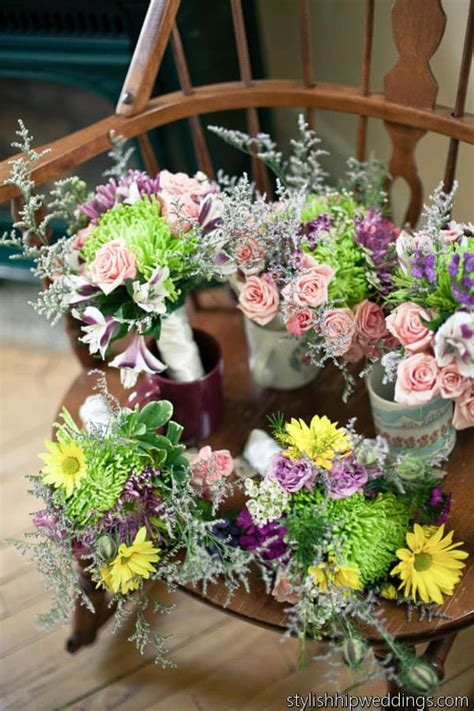 Do It Yourself Barn Wedding in Vermont using Wholesale Flowers
