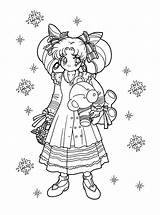 Coloring Pages Sailormoon Sailor Moon Anime Printable Chibi Adult Picgifs Sheets Mini Easy Scouts Japanese sketch template