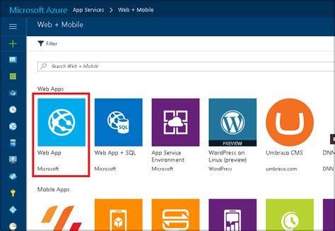 web app template deploy a boot application to the azure app service microsoft docs