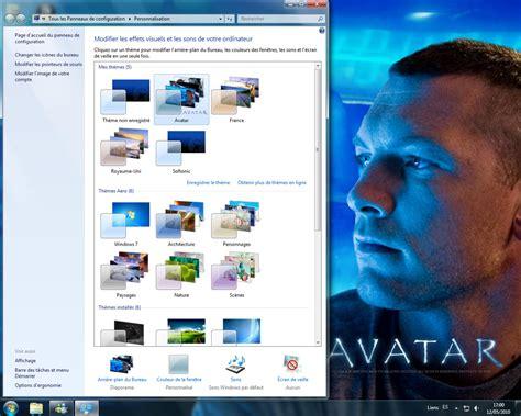 theme bureau windows 7 gratuit th 232 me de bureau avatar t 233 l 233 charger