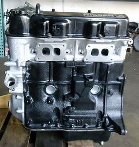 Remanufactured Long Block 2 4 Engine For Nissan 1986 Truck