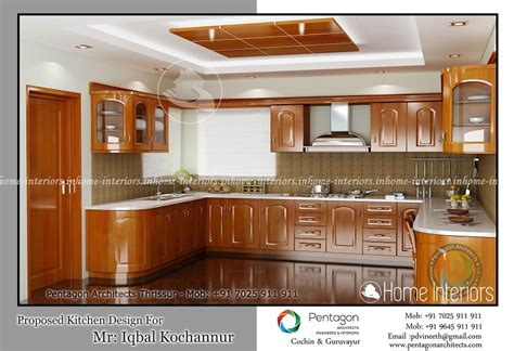 Excellent Contemporary Home Modular Kitchen Interior Design