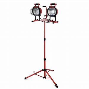 Iron horse w halogen tripod worklight sku