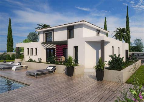 modele cuisine ouverte maison moderne bouches du rhône drome gard vaucluse constructeur maison maisons atm