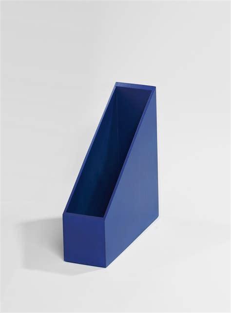 boites de rangement bureau boite de rangement bleue pour archive de bureau kollori