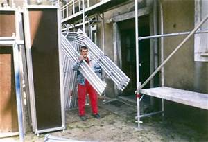 ALTEC Fassadengerst 90m Neu Zugelassen Aluminium