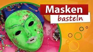 Faschingsmasken Selber Machen : masken basteln faschingsmaske selber gestalten diy trendmarkt24 youtube ~ Eleganceandgraceweddings.com Haus und Dekorationen