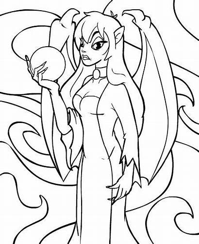 Coloring Faerie Neopets Magic