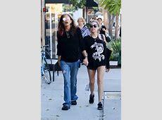 Steven Tyler holds hands with girlfriend Aimee Preston
