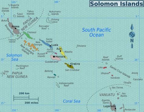 Isole Salomone - Wikivoyage, guida turistica di viaggio