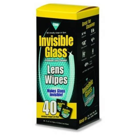 Len Aus Glas by Invisible Glass Lens And Screen Wipes