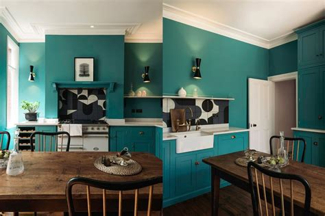 green blue kitchen beautiful blue kitchen design ideas 1349