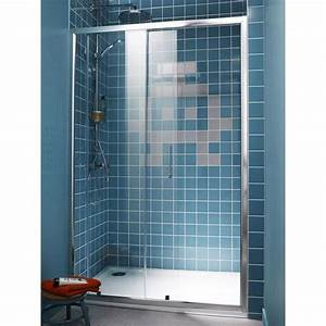 porte de douche coulissante sensea remix 2 verre de With porte de douche coulissante avec meuble salle de bain collection remix