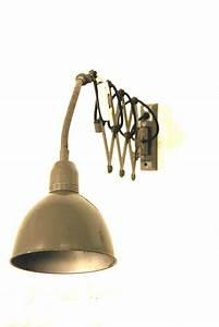 Vintage Lampen Berlin : vintage scherenlampe industrie scherenlampe works berlin restauriert und verkauft original ~ Markanthonyermac.com Haus und Dekorationen