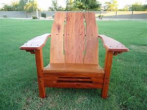 Adirondack Chair Complete - The Wood Whisperer
