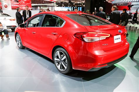 kia forte updated   base engine revised