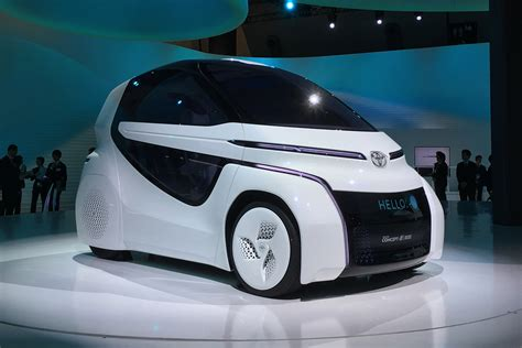 Toyota concept-i RIDE revealed at the Tokyo Motor Show ...