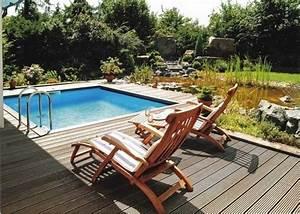 Mini Pool Terrasse : installer une petite piscine coque le luxe est d j abordable ~ Orissabook.com Haus und Dekorationen