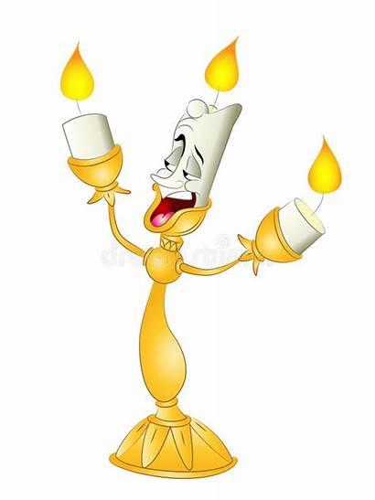 Candlestick Bella Bestia Beast Cartoon Clipart Dier