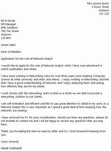 Network, Analyst, Cover, Letter, Example, U2013, Icover, Org, Uk, U2013, Icover, Org, Uk