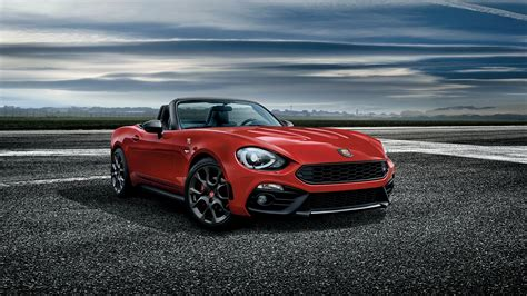 2017 Fiat 124 Spider Abarth Wallpapers Hd Images