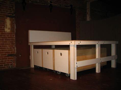 custom  platform bed  drawers  lucky design