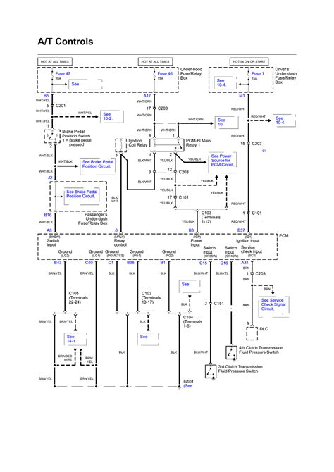 2003 Honda Pilot Radio Wiring Diagram by Repair Guides