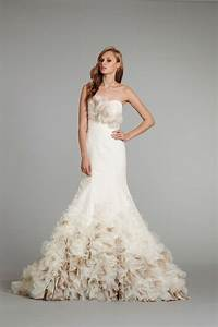 New wedding dress in folral style collection weddings eve for New wedding dress