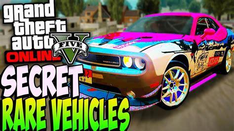 Rare Secret Cars Online 1.24/1.23