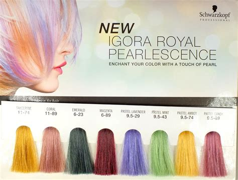 New Pearlessence Colors By Schwarzkopf