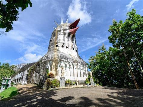 foto gereja ayam magelang tiket masuk lokasi wisata