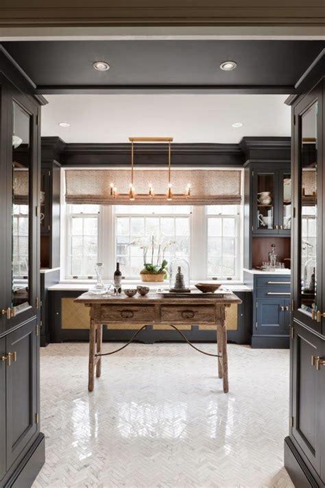 Beautiful Butler's Pantry  Greige Design  Blog