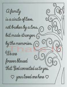 Remembering a Loss of Loved One Cards
