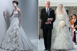 hot pics celebrity With chelsea clinton wedding dress
