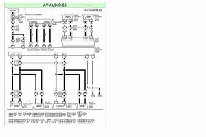 Audio Wiring Diagram For 06 Nissan Sentra With Fosgate Package  Rear Of Headunit And Amp Plugs