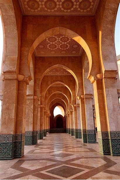 Morocco Middle Mosque Eastern Architecture Ii Casablanca