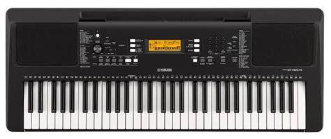 yamaha psr e363 yamaha psr e363 touch sensitive portable keyboard mcquade musical instruments