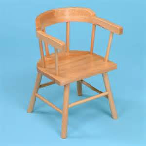 2 x wooden children s captains chairs from early years resources uk