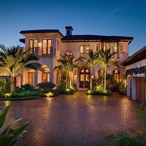 Cute, Single, Story, Mediterranean, House, Plans, Luxury, Home