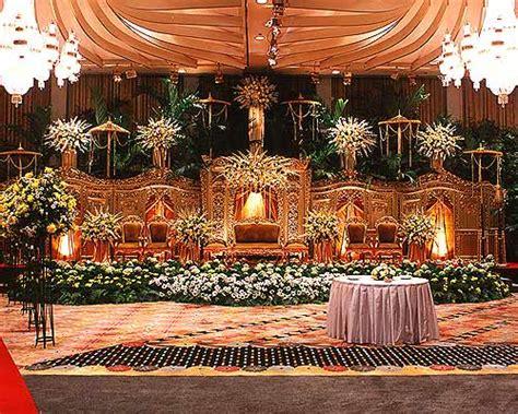 contoh dekorasi pernikahan modern elegan futuristik