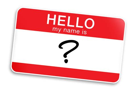 Hello, My Name Is…  A Woman's Worth