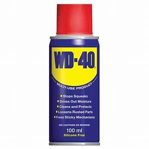 WD-40 Lubricant 100ml DIY, Lubricant, Aerosol