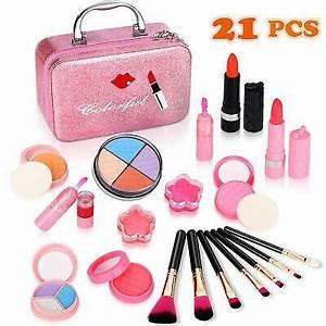 Kids Makeup Kit for Girls,Kids Cosmetics Make Up Set With ...