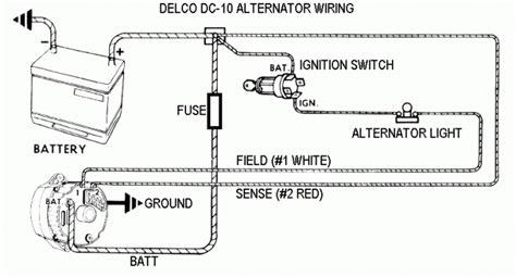 delco remy alternator wiring diagram fuse box and wiring diagram