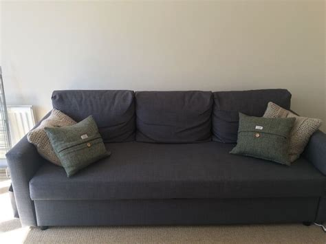 3 Seater Sofa Bed by 3 Seater Ikea Sofa Bed Grey Only 6 Months