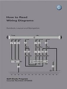 Self Study Program 873003 - How To Read Wiring Diagrams