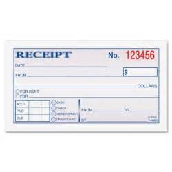 Gallery For > Blank Receipt Book