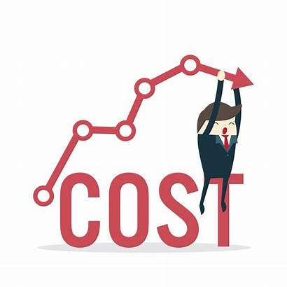 Cost Costs Reduction Down Concept Business Vector