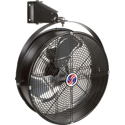 Q Standard Garage Fan — 18in, Model# 18923  Wall Mount